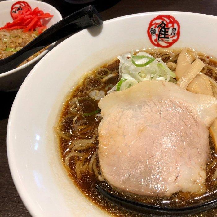 醬油ラーメンと半チャーハン【麺屋 隹(ふるとり)】