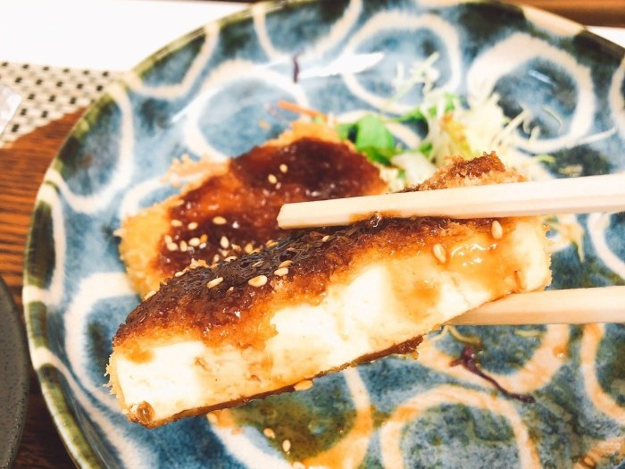 豆腐のカツ