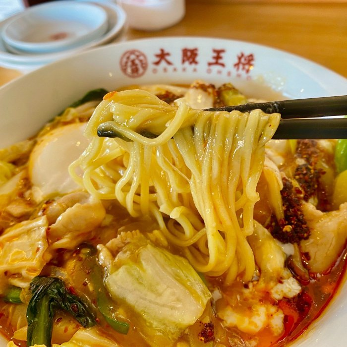 麺は中太麺。具と麺のバランスが良いです